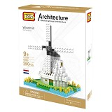 LOZ Windmill Netherland [9363] - Building Set Architecture